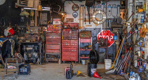 Wie organisiere ich meine Garage?